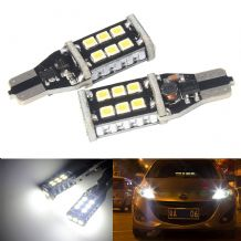 T15 168 955 921 W16W 15 SMD Bulbs LED Side Reverse Tail Brake Light CANBUS Free